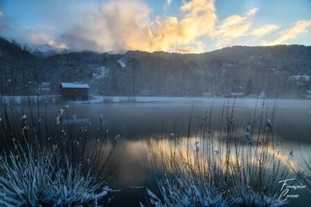 Lac bleu - lac morillon