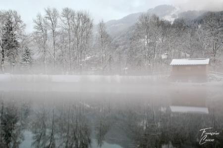 lac de morillon - lac bleu