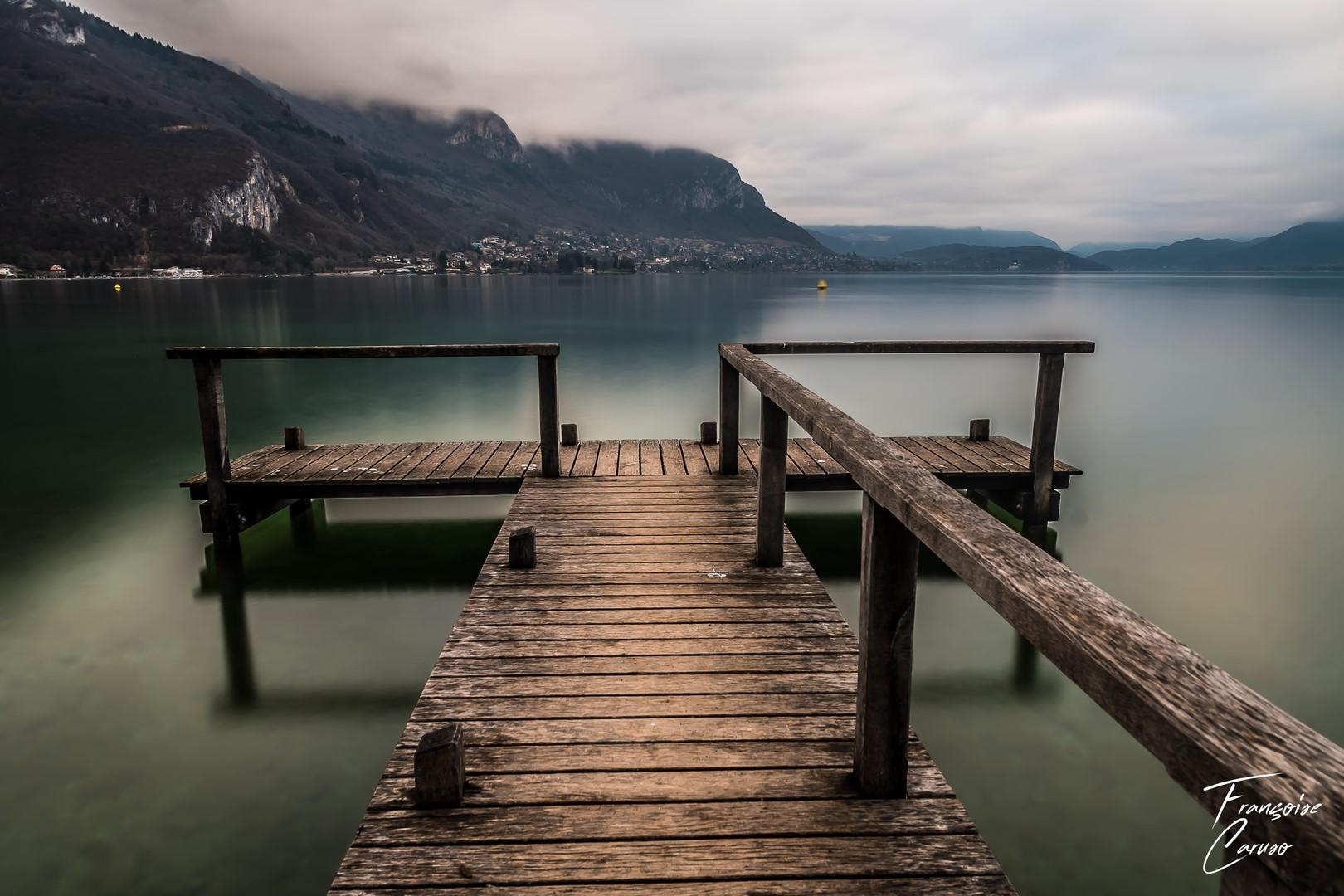 lac annecy - ponton