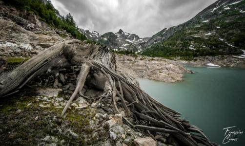 Lac d emosson - barrage d emosson