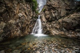 Cascade d'Emosson - Barrage d'emosson
