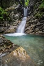 Cascade de la Belle au Bois - Megève
