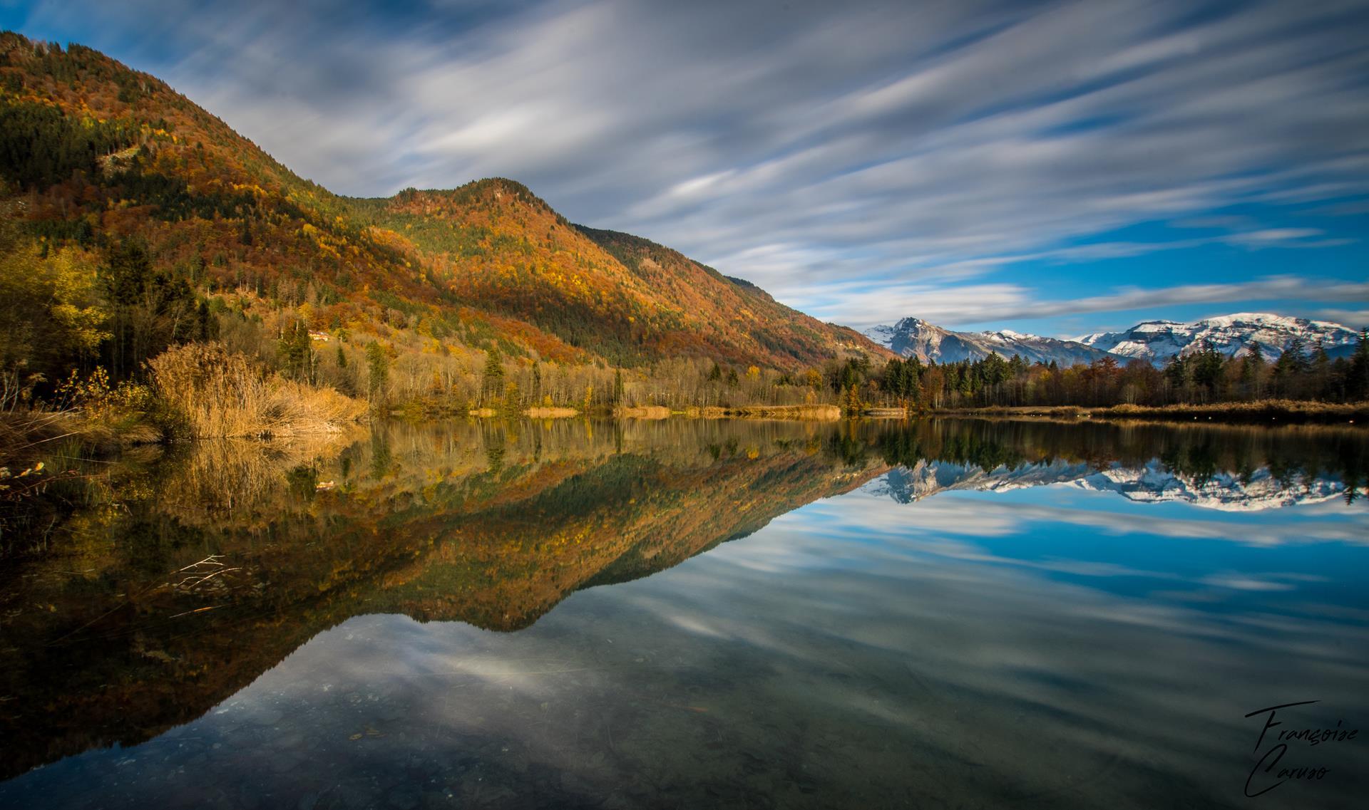 lac taninges - lac haute savoie