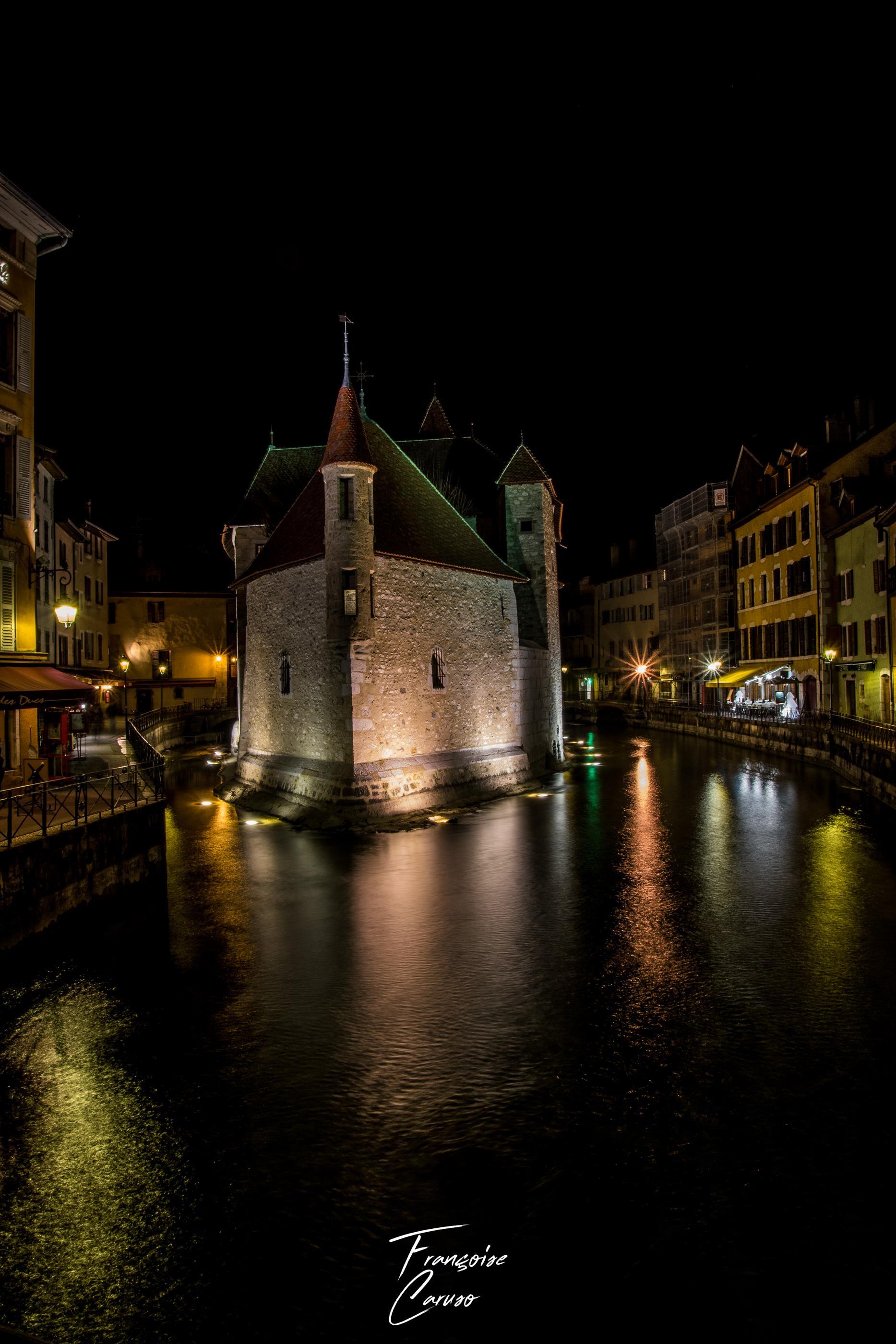 Annecy la nuit- ville annecy
