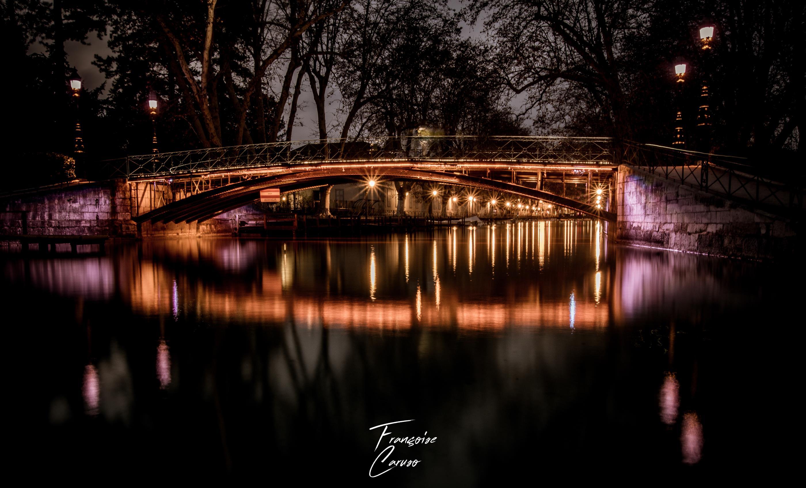Le pont des amours - Annecy
