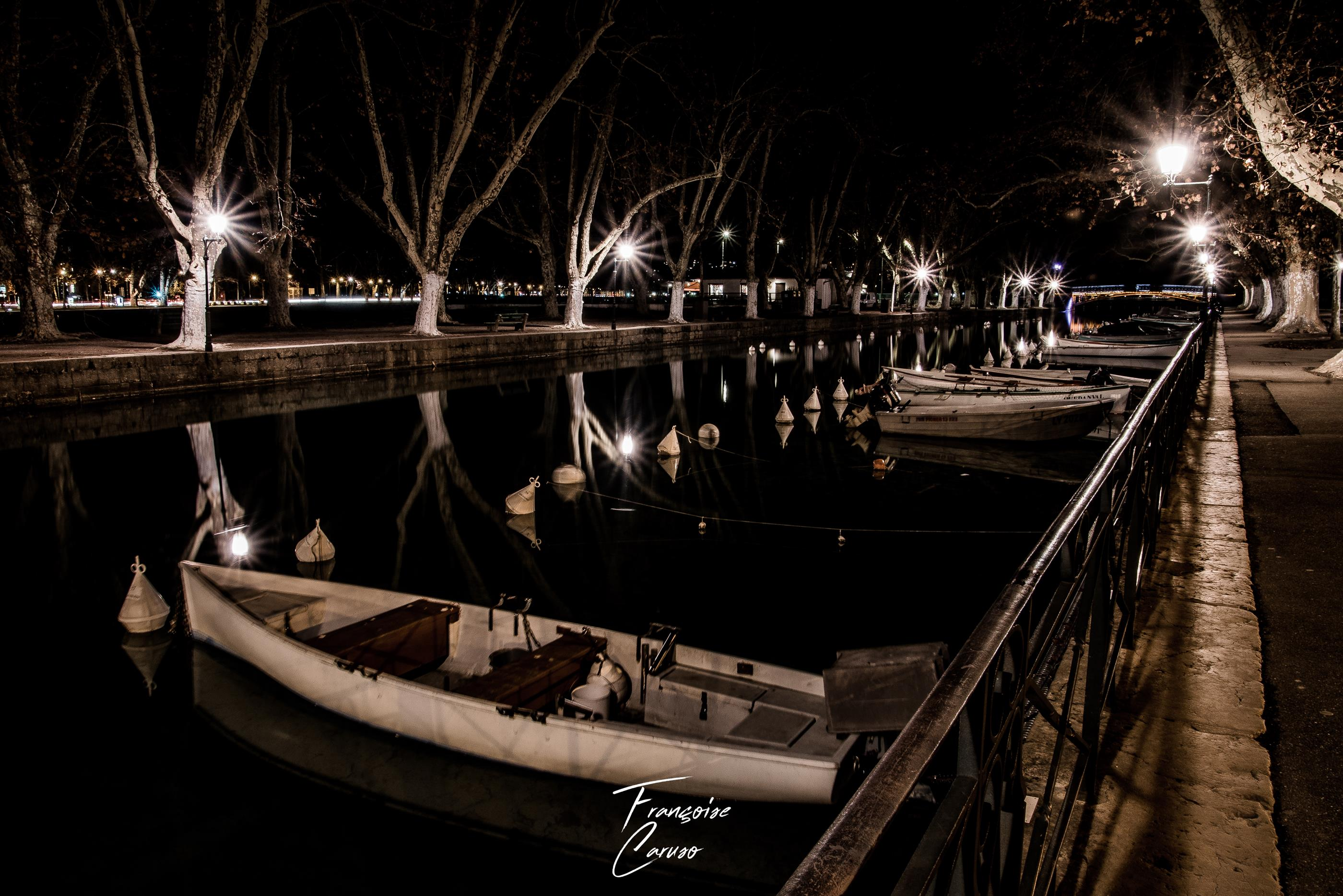 Annecy by night - ville d'annecy