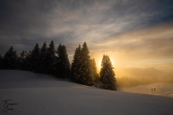 Plateau d'Agy - photo de neige