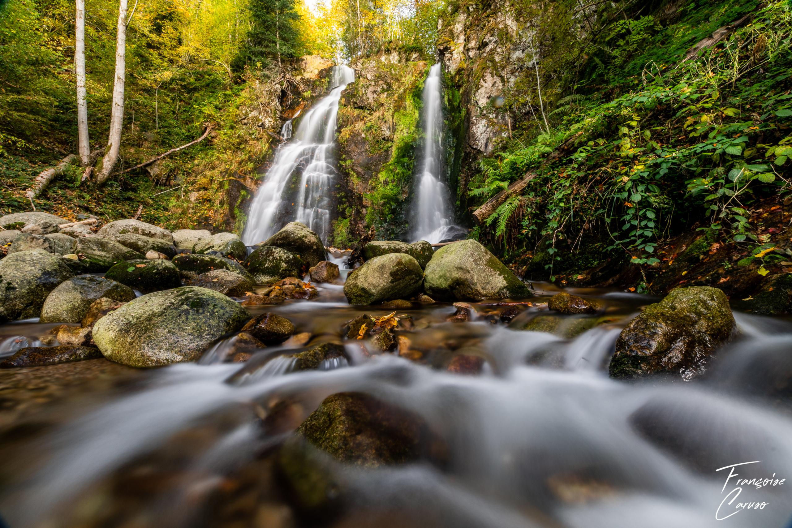 Cascade de Heidenbad Vosges